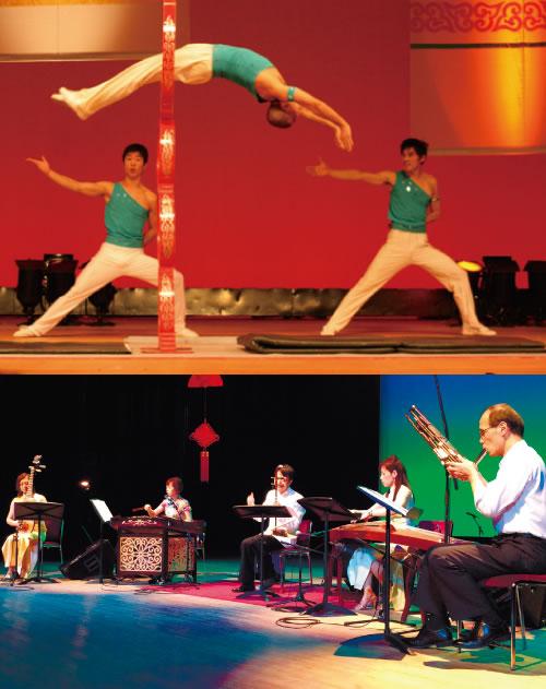中国雑技団&中国伝統音楽会