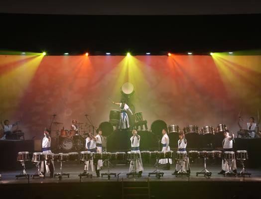日本初のドラムパフォーマンス集団 鼓和-core-
