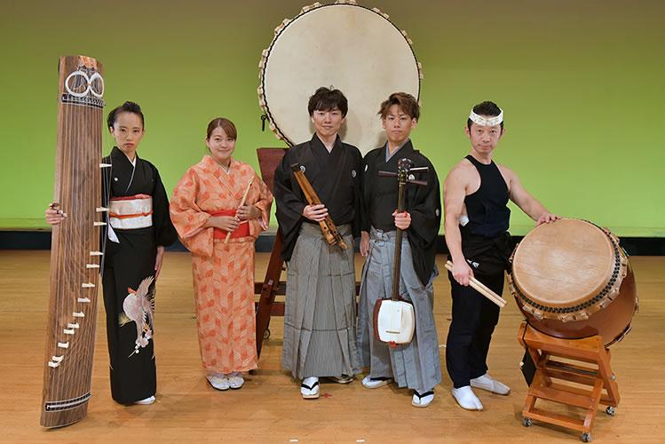 日本楽器集団 雅の風(みやびのかぜ)